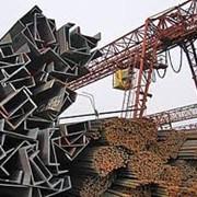 Чёрный металлопрокат фото