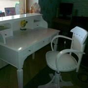 Мебель для школьников, Парта домашняя с креслом фото