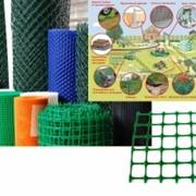 Сетка пластиковая 20х20 1,22*20 темно-зеленый 00119 фото