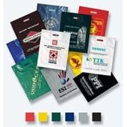 Рекламные цветные полиэтиленовые пакеты