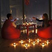 Романтическое свидание в Москва Сити фото