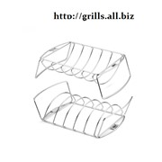 Подставка-сетка для ребрышек и жареных блюд фото