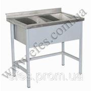 Ванна моечная двухсекционная нержавеющая сталь ВС-2 стандарт фото