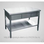 Стол с выдвижными ящиками СТН-7-2 фото
