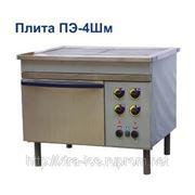 Плита электрическая промышленная ПЭ-4Шм (к) фото