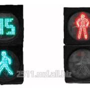 Светофор светодиодный с обратным отсчетом времени фото