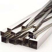 Труба профильная нержавеющая 30х15х1,5х6000 мм AISI 304 шлиф. фото