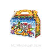 """Новогодняя коробка под конфеты """"Разбудить удава"""", 1500 г фото"""
