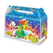 Новогодние коробки  купить подарочные коробки  оптом новогодняя упаковка для конфет
