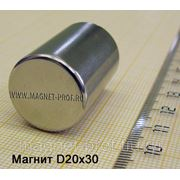 Неодимовый магнит 20х30мм. фото