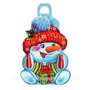 """Новогодний подарок """"Снеговик Морковкин"""" 400г."""