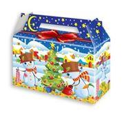 Новогодние коробки |купить подарочные коробки |оптом|новогодняя упаковка для конфет| | фото