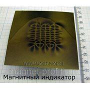 Магнитный индикатор 70x70мм. фото