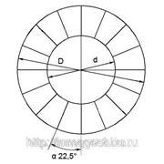 Неодимовый сектор 205х45х20x22,5°