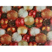 Бумага упаковочная новогодняя 70*100см (870735) фото