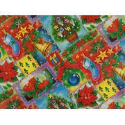 Бумага упаковочная новогодняя 70*100см (870744) фото