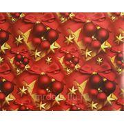Бумага упаковочная новогодняя 70*100см (870745) фото
