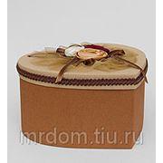 """WB-04/5 коробка сердце """"три розы"""" (871668) фото"""