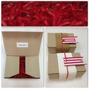 Коробочка для упаковки подарка фото