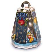 Сладкий новогодний подарок Колокольчик бирюзовый, 450 г фото