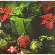Пакет бум./лам. новогодний 41*41см (870826) фото