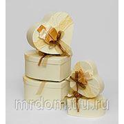 """WB-06 комплект коробок сердце из 5шт """"букет роз"""" (871285) фото"""