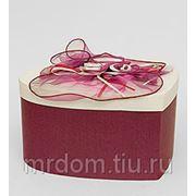 """WB-16/5 коробка сердце """"цветы страсти"""" (871688) фото"""