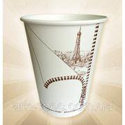 Бумажный стаканчик 360 мл, 50 шт. с рисунком фото