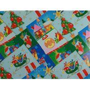 Бумага упаковочная новогодняя 70*100см (870730) фото