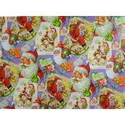 Бумага упаковочная новогодняя 70*100см (870743) фото