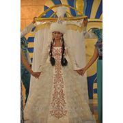 Сдаю на прокат казахское национальное платье фото