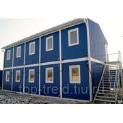 Модульные здания контейнеры фото