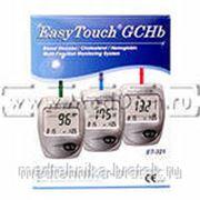 """Многофункциональная система измерения уровня глюкозы, холестерина, гемоглобина в крови """"Easy Touch"""" фото"""