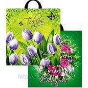 Пакет ПВД 40х42 «Букет, Соцветие» (ассорти) фото