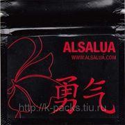 ALSALUA - грипперы многослойные чёрные 7х7 см. с этикетками фото