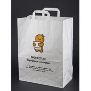 Крафт пакеты с логотипом фото