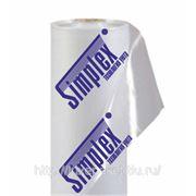 Полиэтиленовый рукав с нанесением логотипа фото