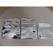Пакетики алюминизированные фото