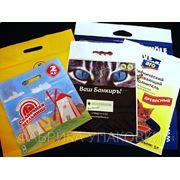 Пакеты полиэтиленовые (ПВД) с прорубной ручкой фото