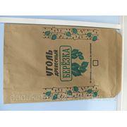 Бумажный мешок для фасовки древесного угля 3 кг фото