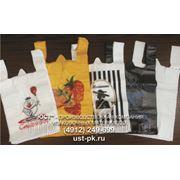 Производство ПНД, ПВД пленок и пакетов с логотипом. фото