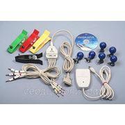 Домашний кардиоанализатор ЭКГ 12 отв. НЕБО, суточная запись ЭКГ, USB фото