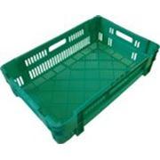 Ящик пластиковый универсальный. Размер 600х400х160 мм фото