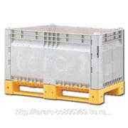 Разборные контейнеры Box pallet KitBin euro (сплошной / перфорированный) фото