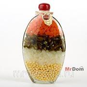 Бутыль декоративная с консервированными овощами (837702) фото