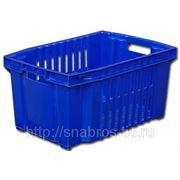 Ящик пластиковый для овощей 540*360*260 фото