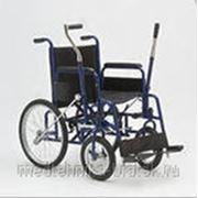 Кресло - коляска для инвалидов с рычажным управлением Мод. Н005 фото