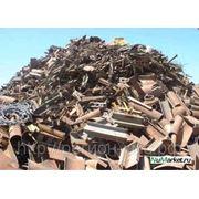 Лом черных металлов категории 3А фото