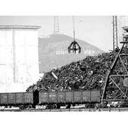 Лом черных металлов фото