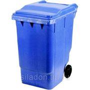 Евроконтейнер пластиковый 360л фото